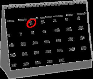 Calendar clipart january calendar Calendar com at 2013 Desk