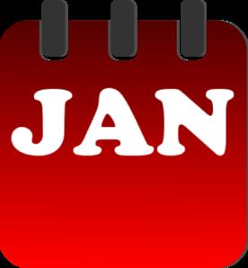 Calendar clipart january calendar January image calendar clipart calendar
