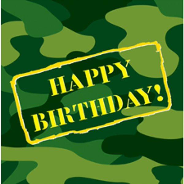 Camo clipart gray Images Napkins Camouflage Party clipart