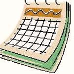 Calendar clipart scheduling Clipart Panda Free Images Schedule