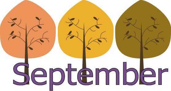 Calendar clipart september Easiest moms Hear Hear for