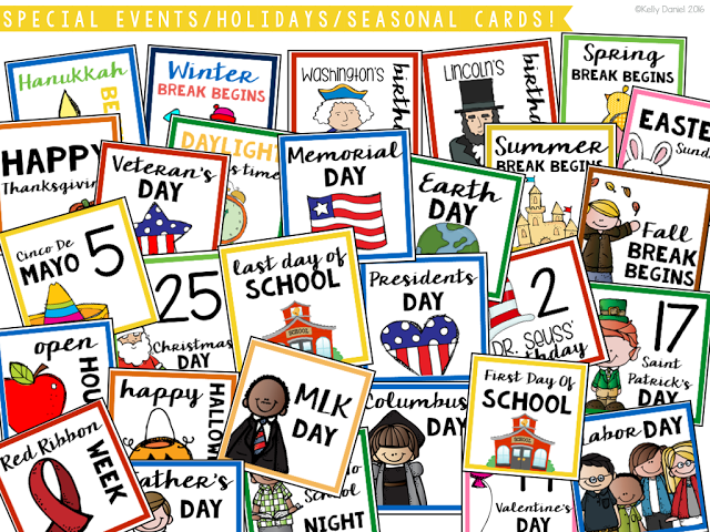Calendar clipart special event Major Classroom includes Calendar special