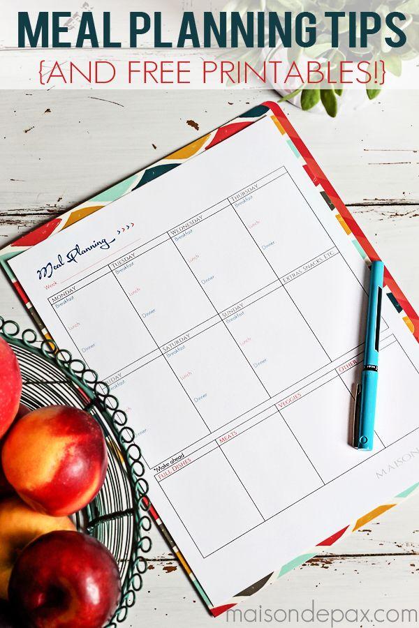 Calendar clipart team dinner Printable on Meal Planning Pinterest