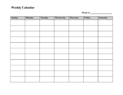 Saturday clipart calendar page #5
