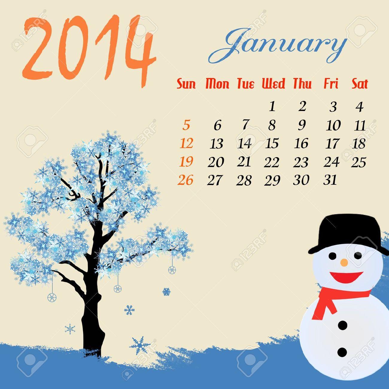 Calendar clipart winter Snowman And BBCpersian7 Winter snowman