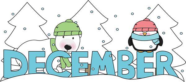 Gallery clipart winter fun Calendar Printables Preschool Winter Winter