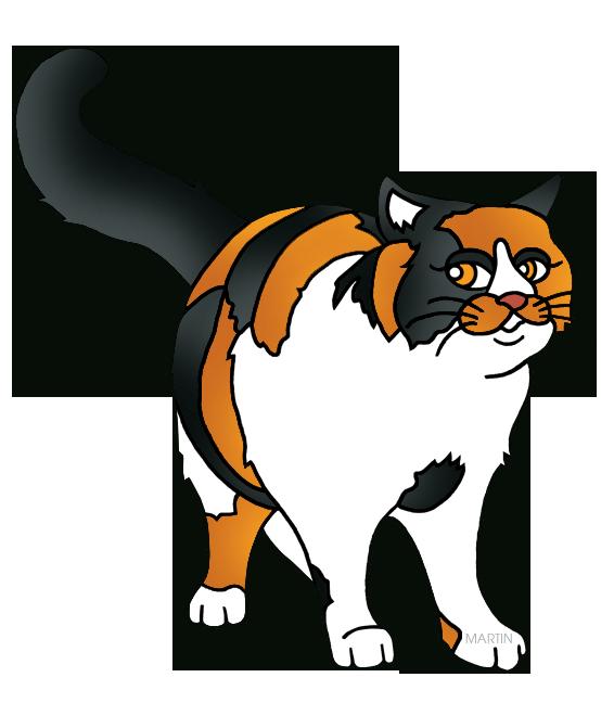 Calico Cat clipart Art Calico Calico Cat Martin
