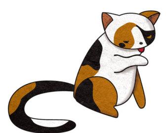 Calico Cat clipart Download Calico clipart Cat Cat