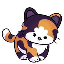 Persian Cat clipart kawaii cat Drawings svg Download Calico Calico