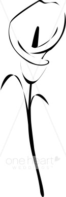 Calla Lily clipart easy Lily Clipart Tattoo Clipart Clipart