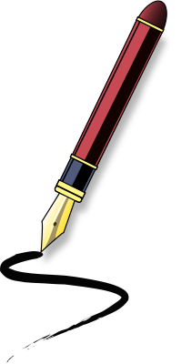 Pen clipart four Art Calligraphy Download Free cliparts
