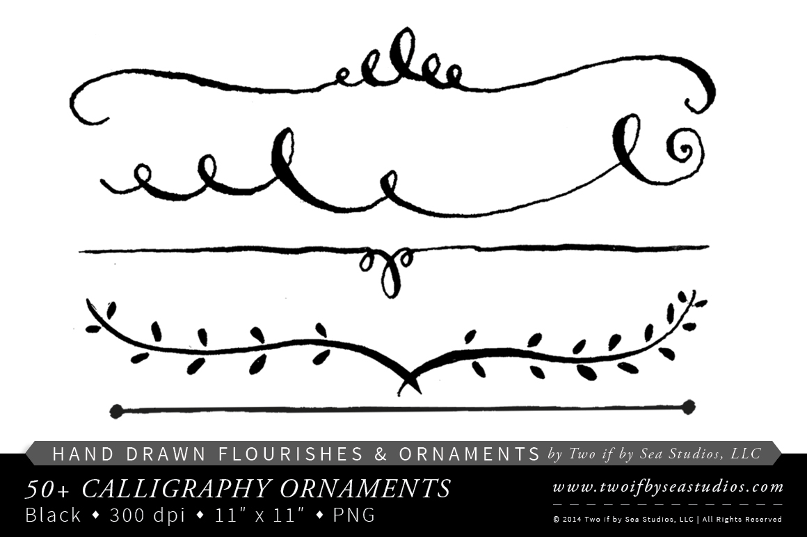 Calligraphy clipart Clipart  No Clipart Collection