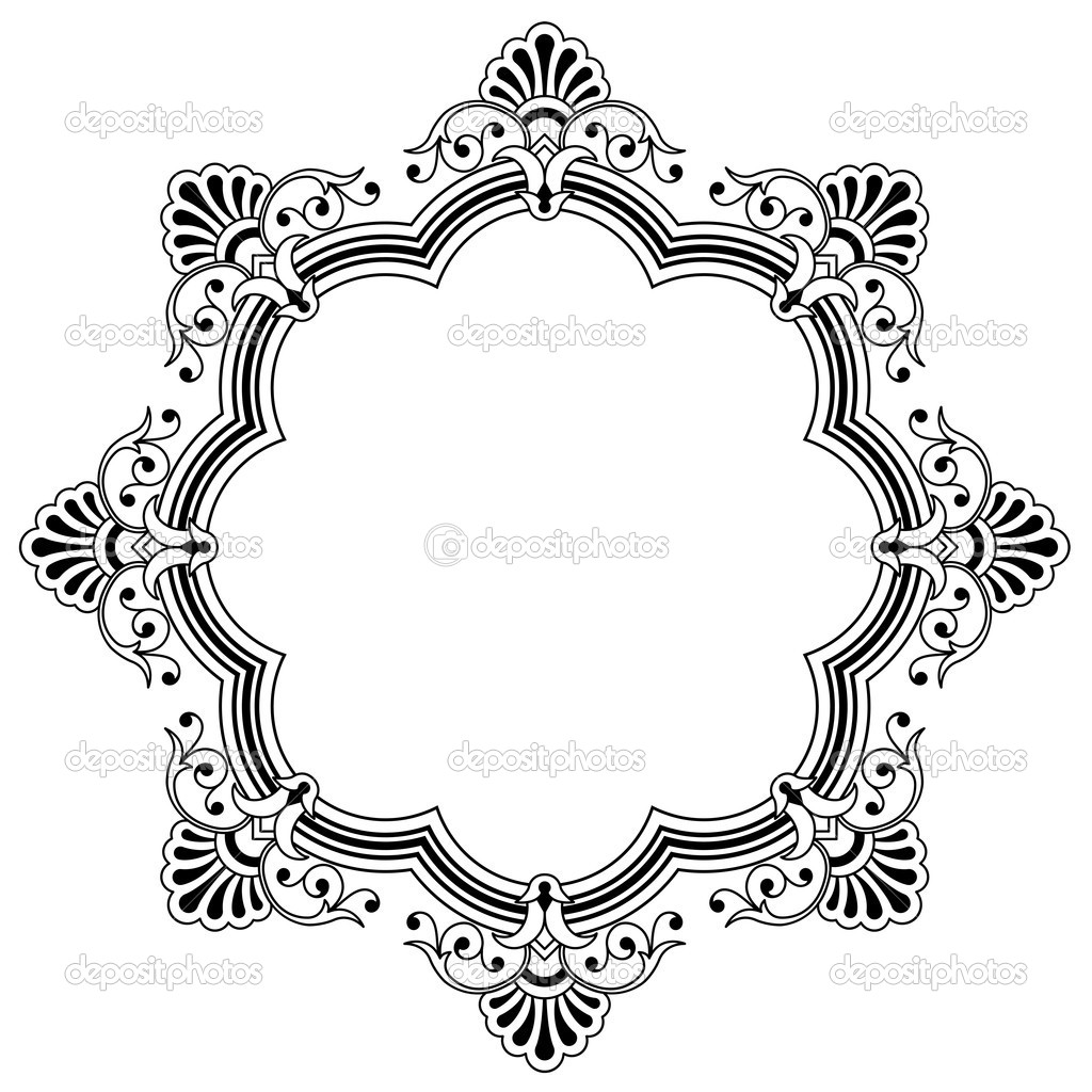 Calligraphy clipart circle border Jpg Google Search*vector* Search*vector* simple