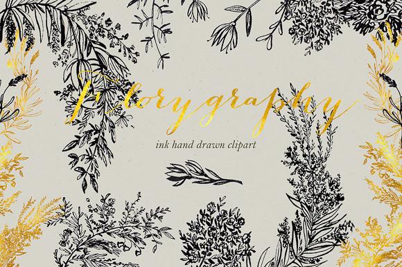 Calligraphy clipart creative Creative ink Calligraphy clipart clipart