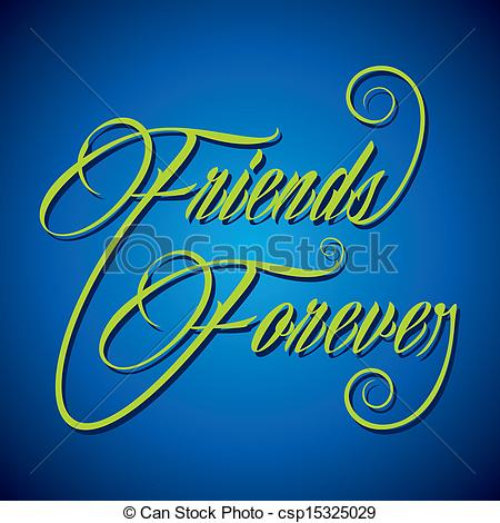 Calligraphy clipart creative Friend Creative Forever word Creative