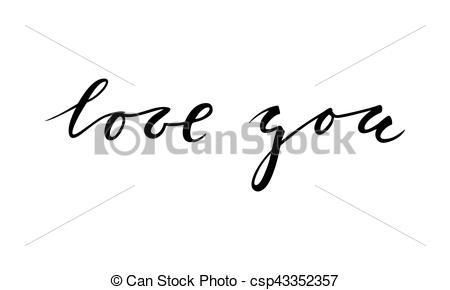 Calligraphy clipart creative Hand drawn I creative creative