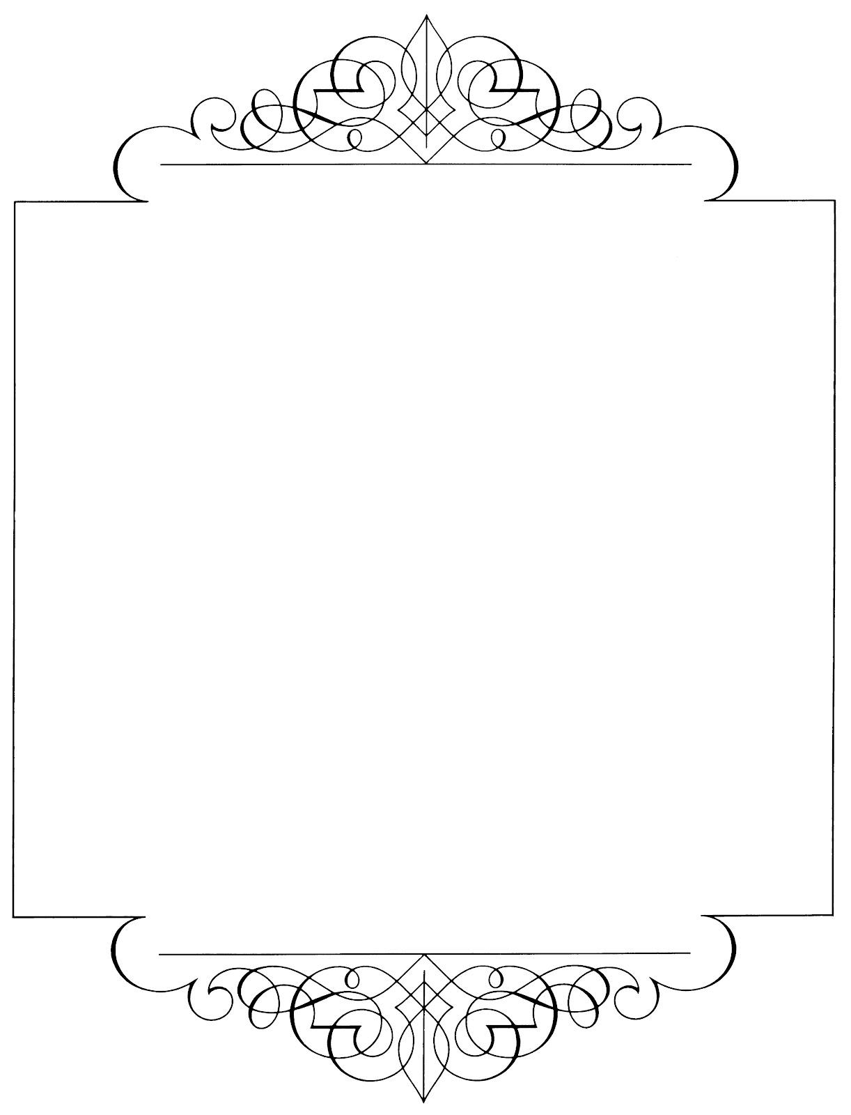 Calligraphy clipart elegant frame Estencil Menu background Menu images