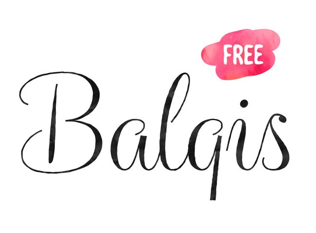 Calligraphy clipart font Download Creative balgis 50 fonts