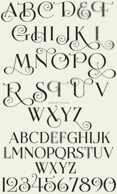 Calligraphy clipart western Calligraphy white  of One
