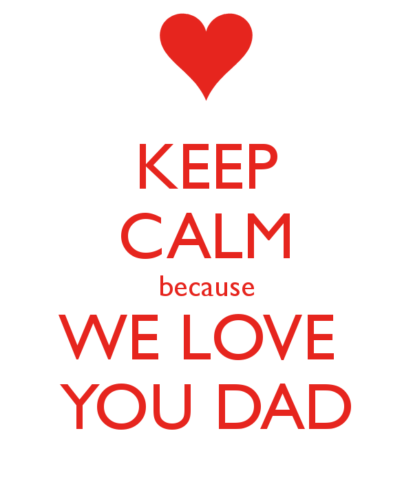 Calm clipart dad You love hd day with
