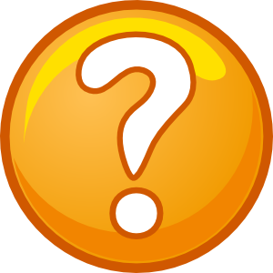 Question Mark clipart funny Calm Staying Between Excitement Sanborn