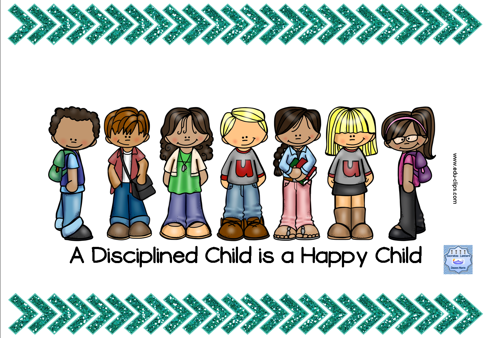 Calm clipart happy child Teacher can Teacher March Teacher