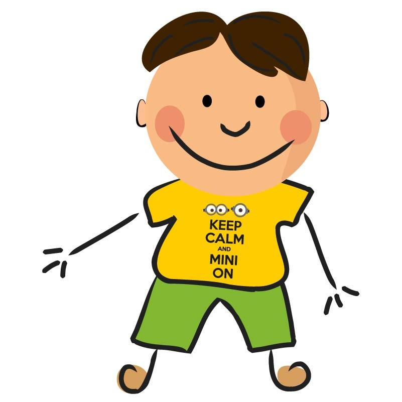 Calm clipart happy child On Keep  and Mini