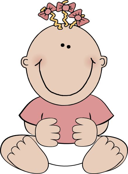 Calm clipart happy child Baby clip on arts best