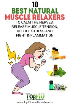 Calm clipart health and wellness To Muscle Calm 10 Relaxers