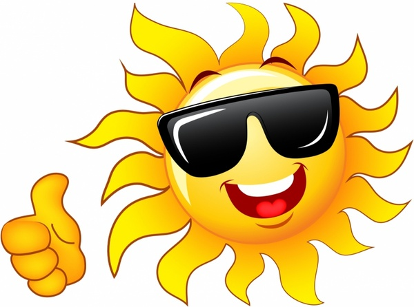 Calm clipart sun smiling Download for  free Thumb
