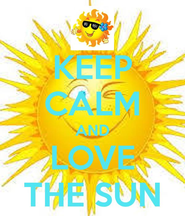 Calm clipart sun smiling SUN o LOVE  Matic