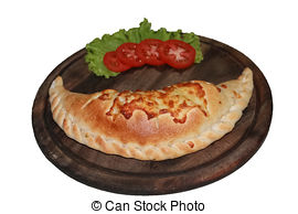 Calzone clipart mini pizza Photo and  Calzone free