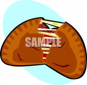 Calzone clipart empanada Clipart  Calzone