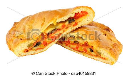 Calzone clipart italian pizza Pepperoni Calzone and Calzone Photos