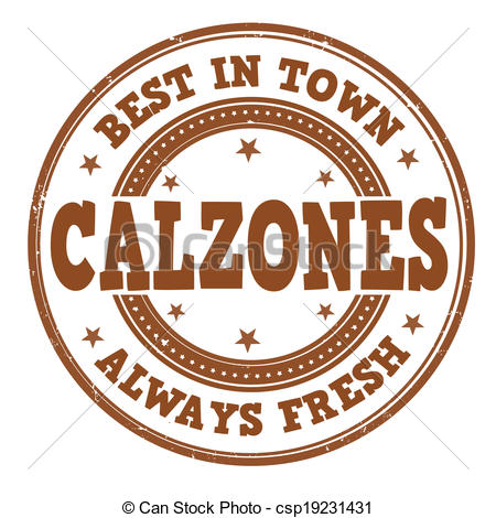Calzone clipart vector  grunge white stamp grunge