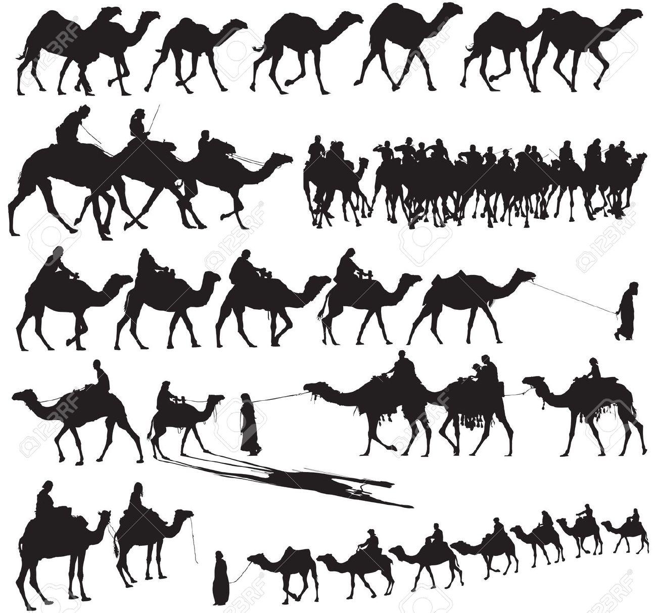 Camel Caravan clipart Drawings clipart Download Camel Caravan