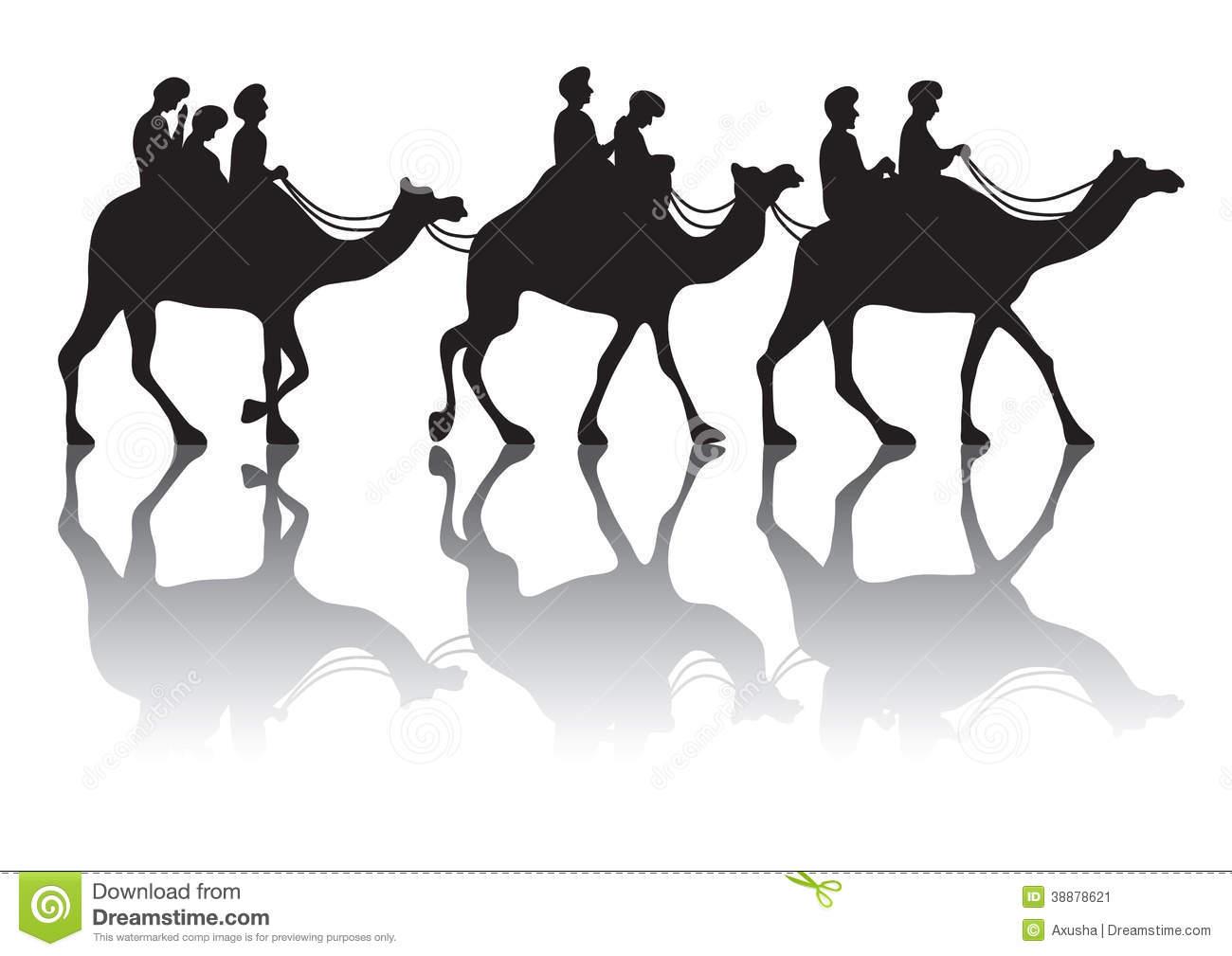 Camels clipart vector Download Clip Clip Caravan –