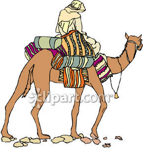 Camel Caravan clipart camel riding Rider Free Luggage Royalty Camel