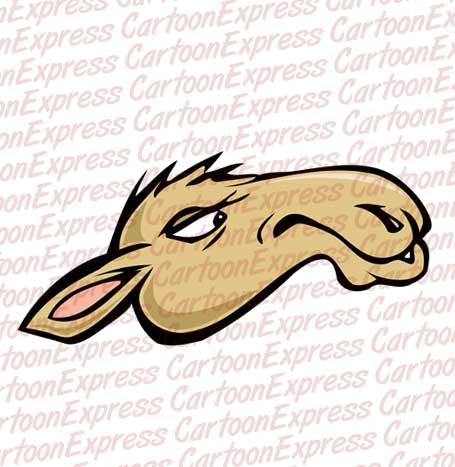 Camel clipart camel head A vector head of head