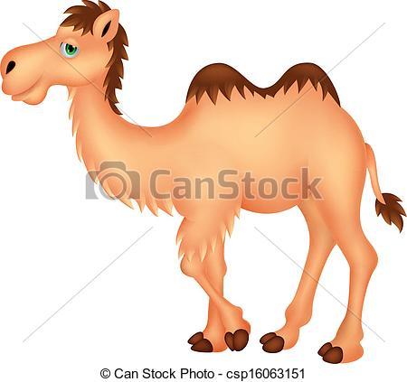 Camel clipart cartoon Cartoon  camel csp16063151 cartoon