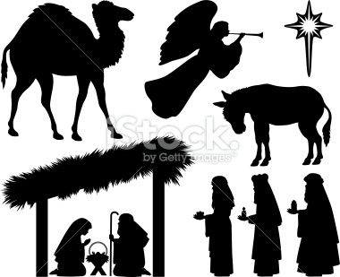 Camel clipart manger Ideas nativity patterns silhouettes Best