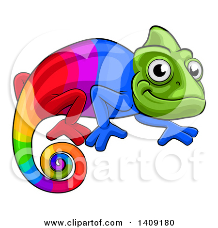 Cameleon clipart #14