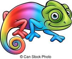 Cameleon clipart #5
