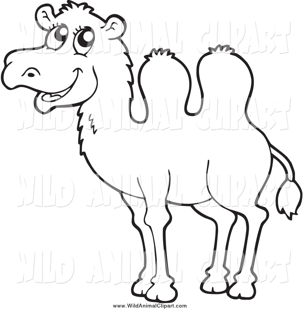 Drawn camels african Clipart Black Images Clipart Camel