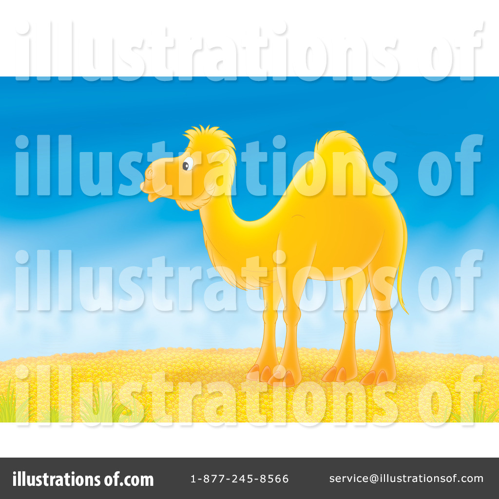 Camels clipart blue #1050253 Camel Royalty Illustration Alex