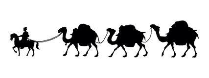 Camel Caravan clipart black and white Camel black clipart caravan DownloadClipart