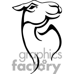 Camel clipart camel head Clipart Black Free Clipart White