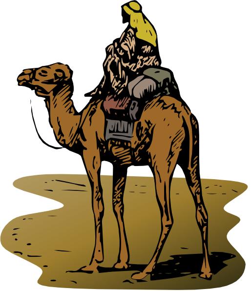 Camel Caravan clipart cartoon As: vector Camel clip com