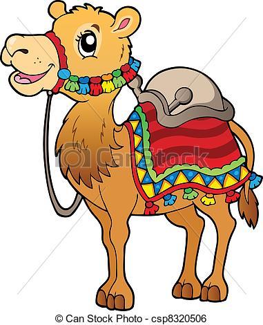Camel clipart cartoon Art 948 Cartoon with camel