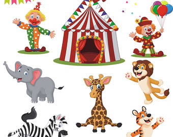 Carneval clipart circus bear Circus Vector Art Circus Clipart